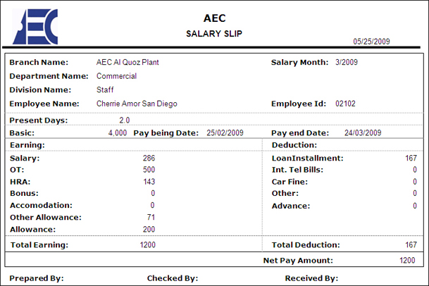 Payroll Slip. Pay Slips 6205,Download Salary Slip. Free Salary
