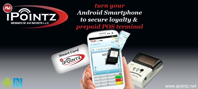 iPoints NFC Loyalty System