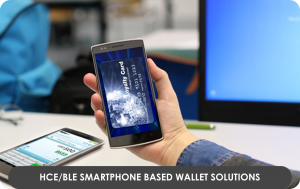 HCEBLE Smartphone based Wallet Solutions