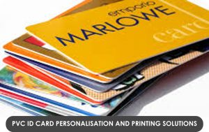 PVC ID Card Personalisation and printing solutions