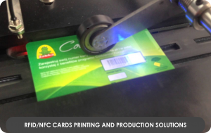 RFIDNFC Cards printing and production Solutions